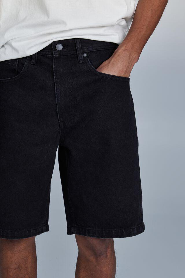 Loose Fit Short, WORN IN BLACK