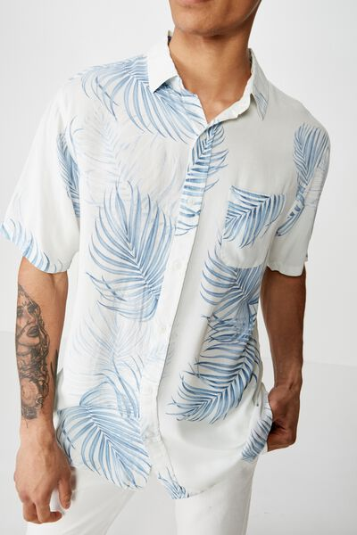 Short Sleeve Resort Shirt, VELZYLAND