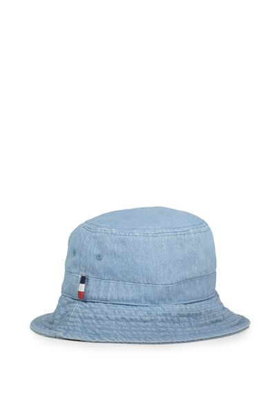 Bronx Bucket Hat, WASHED DENIM