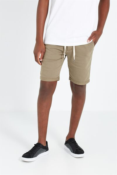 Tailored Casual Short, PUTTY