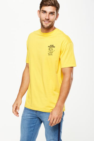Tbar Tee, SK8 SAFETY YELLOW/ACID SULFURQ