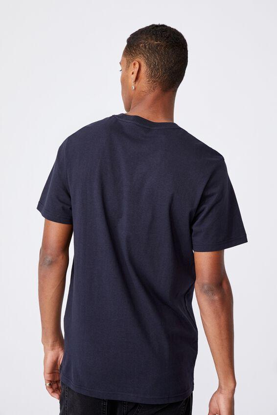 Tbar Cny T-Shirt, INK NAVY/GOOD LUCK