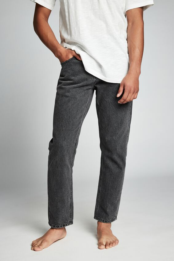 Rigid Relaxed Jean, VINTAGE CHARCOAL