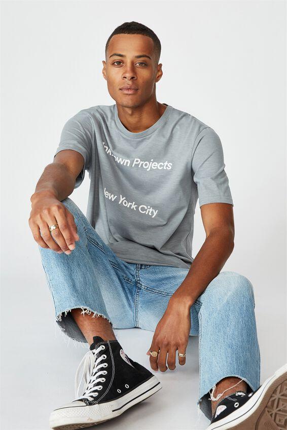 Tbar Street T-Shirt, CITADEL SLUB/UNKNOWN PROJECTS SPACED