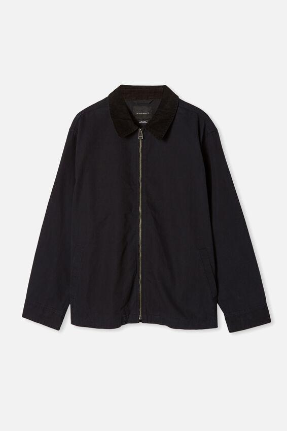 Workwear Jacket, BLACK