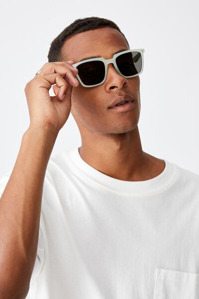 Newtown Sunglasses, MILKY SAGE/SMOKE