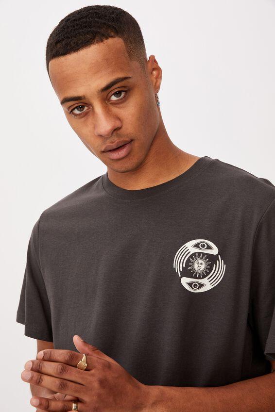 Tbar Art T-Shirt, FADED SLATE/ESSENCE OF PEACE