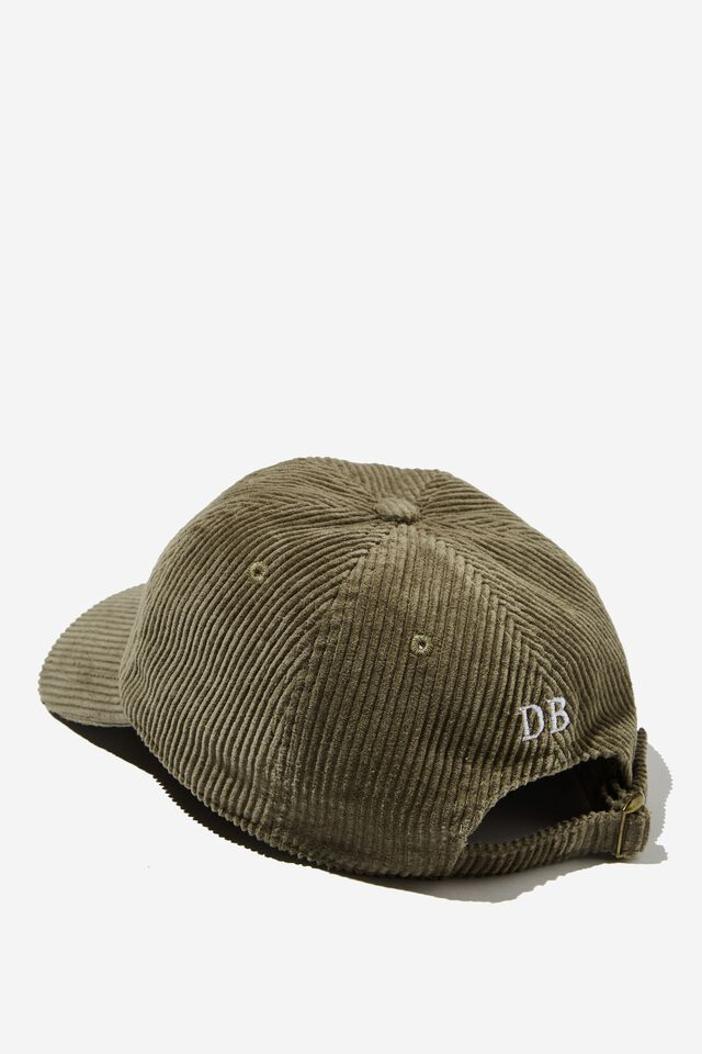 Fosters 6 Panel Hat Personalised, LCN FOS JUNGLE KHAKI/FOSTERS LOGO