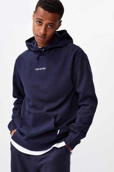 Fleece Pullover 2, TRUE NAVY/COLLECTIVE
