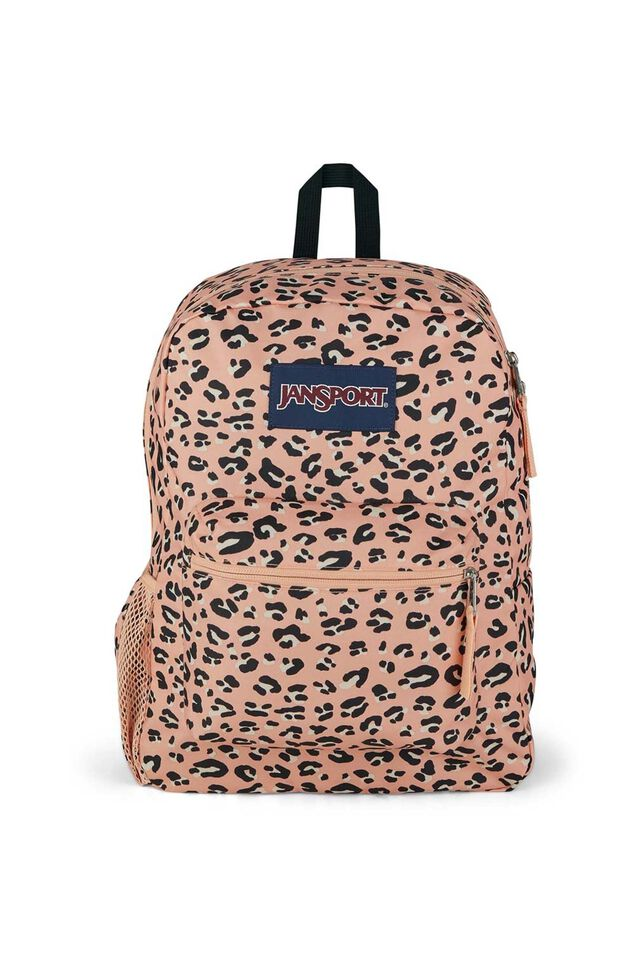 Jansport Cross Town Backpack, PINK PARTY CAT