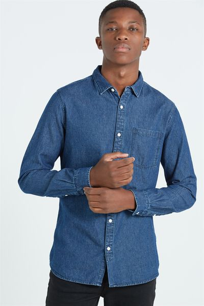 91 Shirt, INDIGO DENIM