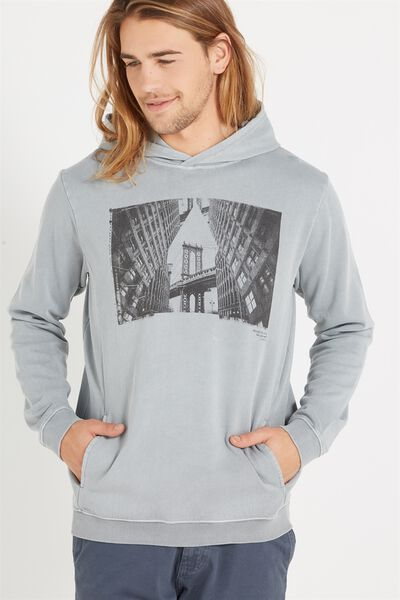Fleece Pullover 2, GUNPOWDER GREY/BROOKLYN BRIDGE