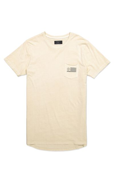 Longline Scoop Hem Tee, IVORY/ALTERNATE STATE