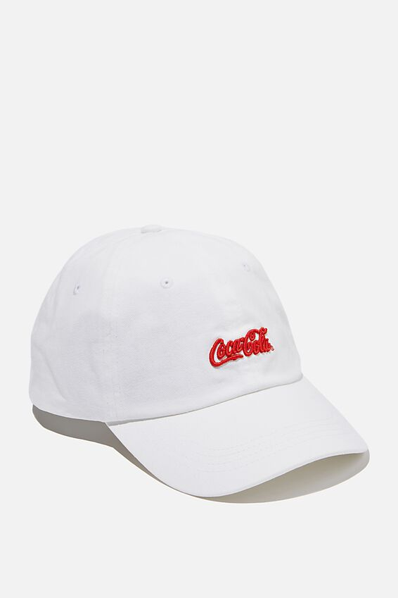 Special Edition Dad Hat, LCN COKE LOGO/WHITE