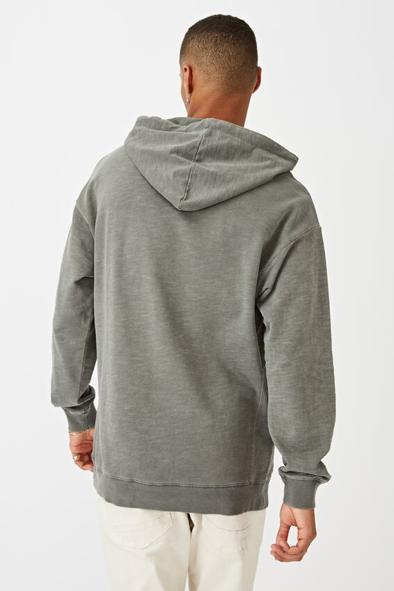 Pigment Dyed Oversized Pullover, SLATE STONE