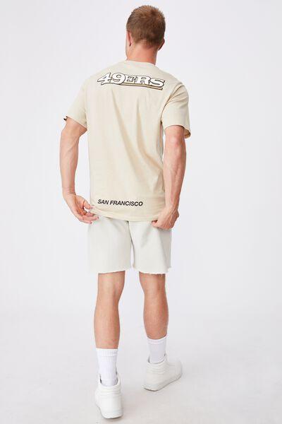 Active Nfl T-Shirt, LCN NFL PALE SAND/NFL-SF 49ERS