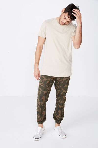 Drake Cuffed Pant Men S Fashion Cotton On