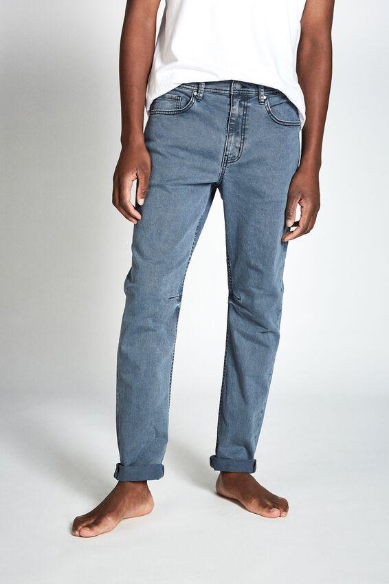 Tapered Leg Jean, BLUE HAZE