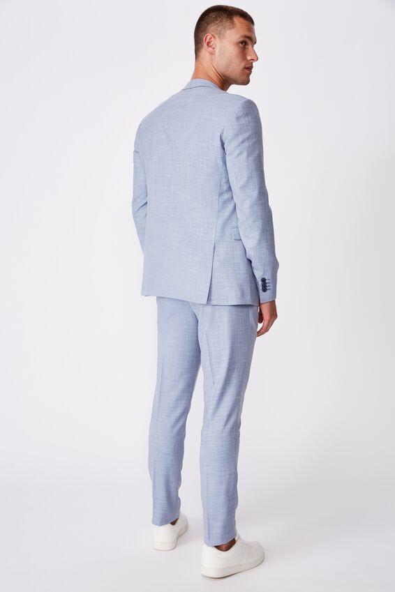 Slim Stretch Suit Pant, DENIM BLUE