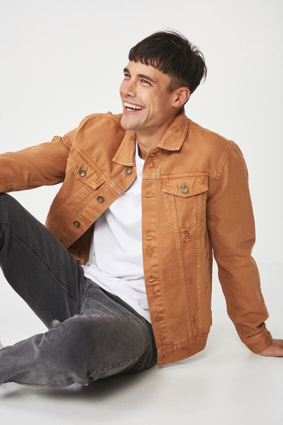 Rodeo Jacket, MUSTARD