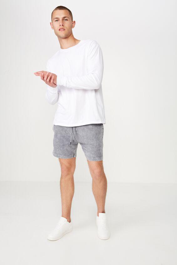Volley Jogger Short, GREY