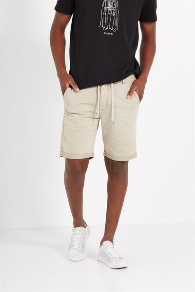 Tailored Casual Short, WASHED DESERT