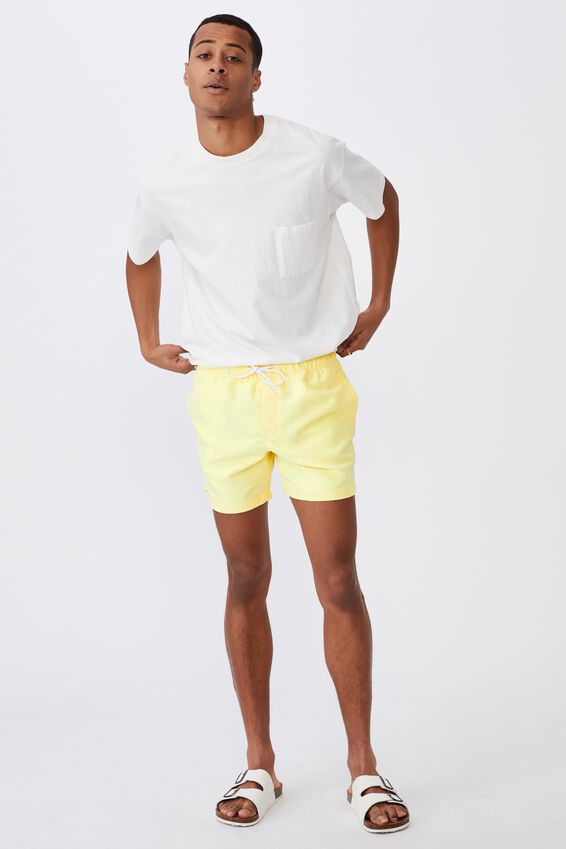 Swim Short, LEMON