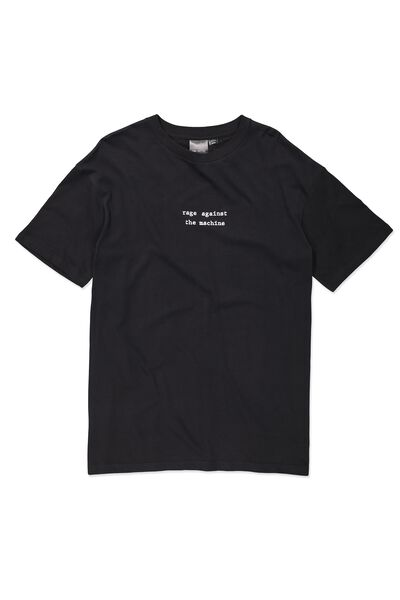 Tbar Collaboration Tee, LC BLACK/RAGE AGAINST
