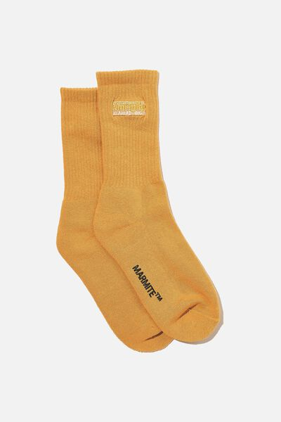 Special Edition Active Sock, LCN MARMITE/GOLD