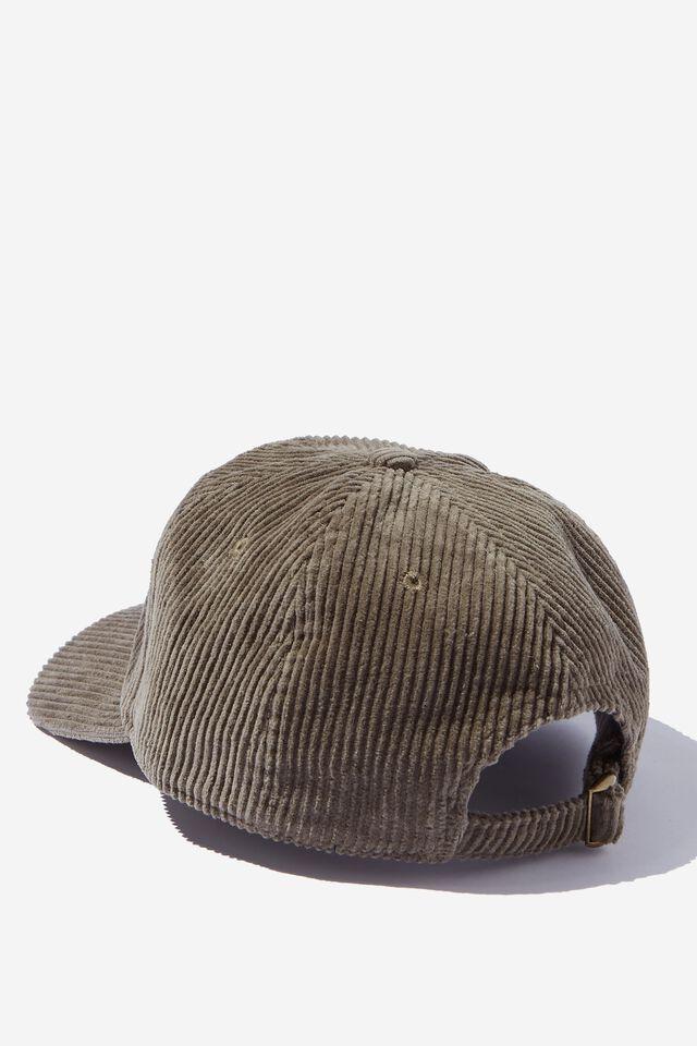 Fosters 6 Panel Hat, LCN FOS JUNGLE KHAKI/FOSTERS LOGO