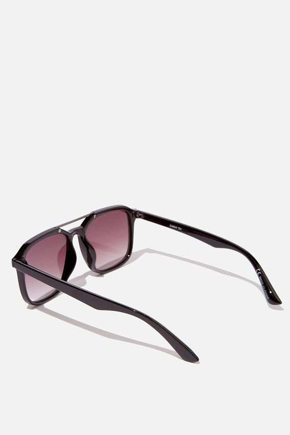 Armstrong Sunglasses, BLACK/GUNMETAL/PURPLE SMOKE