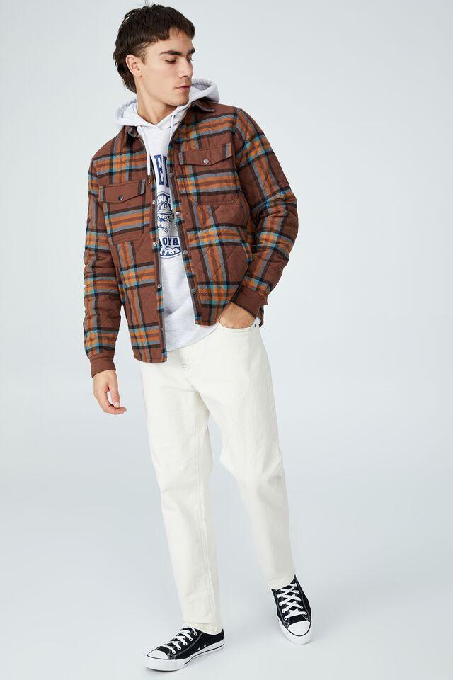 Premium Collab Fleece Pullover, LCN GEO ATH MARLE/GEORGETOWN