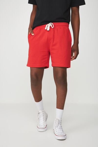 Volley Jogger Short, STRONG RED