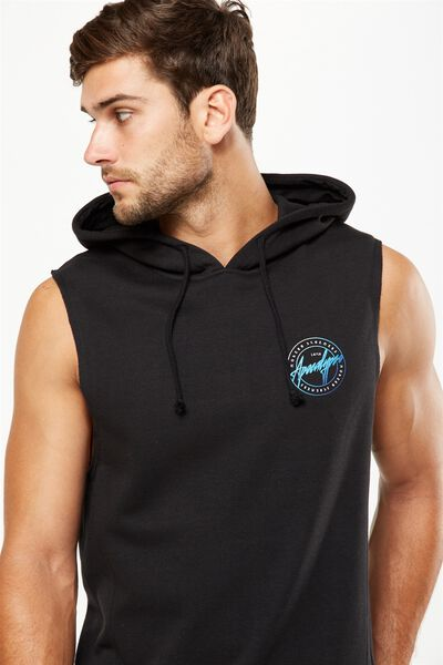 Sleeveless Hood, BLACK/APOCALYPSO