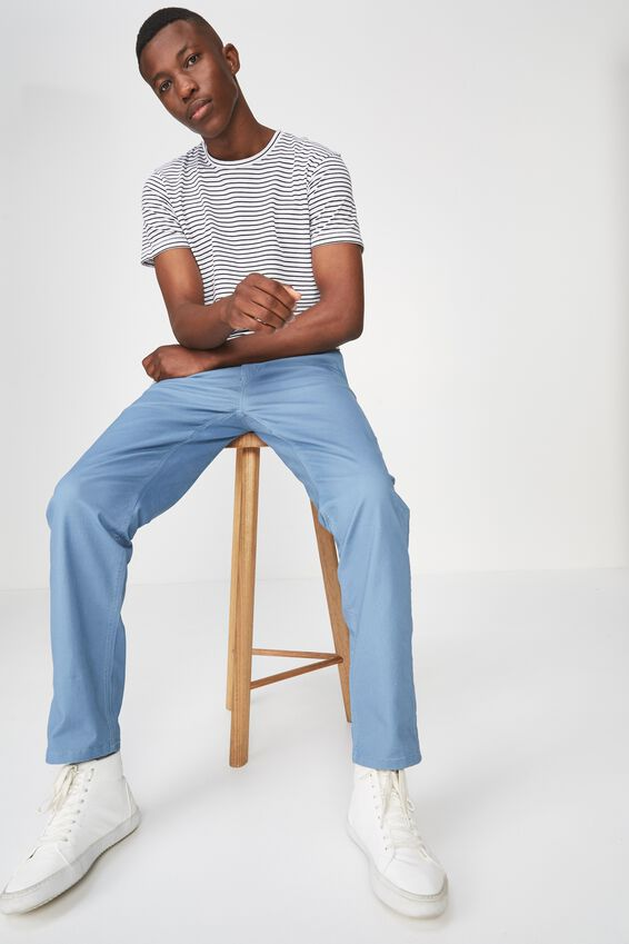 Knox Chino Pant, SURF BLUE