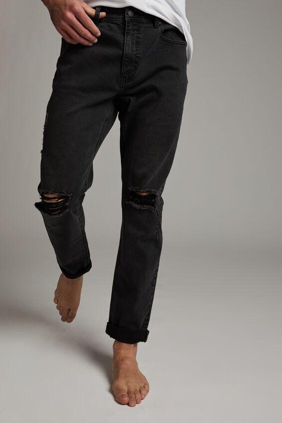 Tapered Leg Jean, RAVEN BLACK BLOWOUT