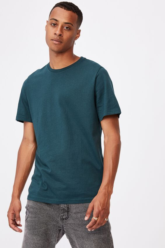 Essential Crew T-Shirt, DEEP SEA TEAL