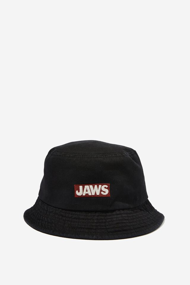 Special Edition Bucket Hat, LCN UNI/BLACK JAWS STAY OUT OF THE WATER