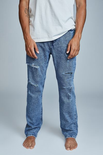 Beckley Straight Jean, HARBOUR BLUE RIPS