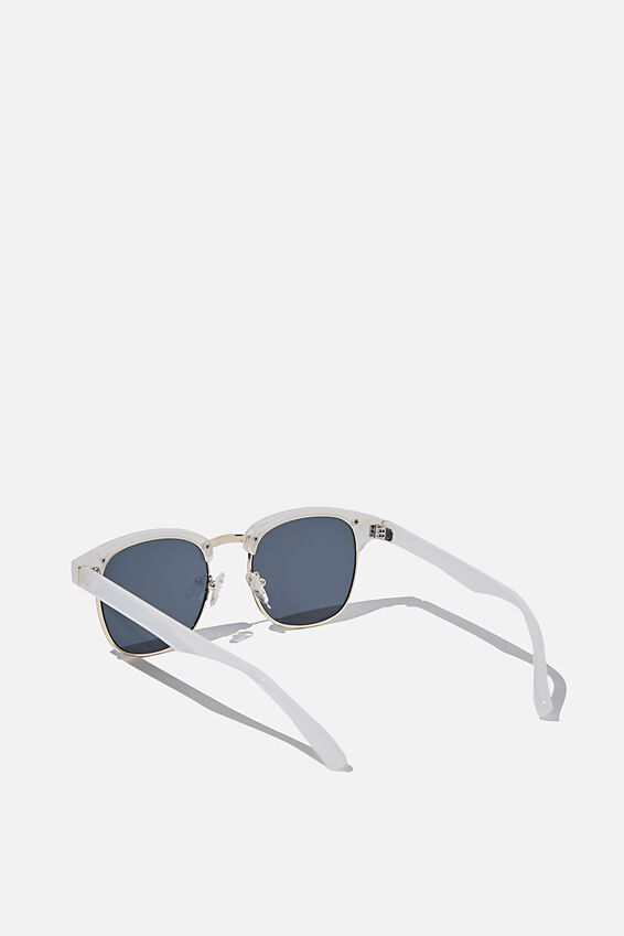 Leopold Sunglasses, PEARL/GOLD/SMOKE