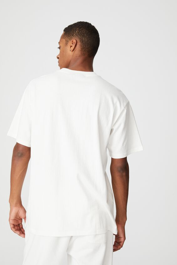Special Edition T-Shirt, LCN YAL VINTAGE WHITE/YALE- LOGO