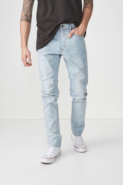 Tapered Leg Jean, PORTLAND BLUE