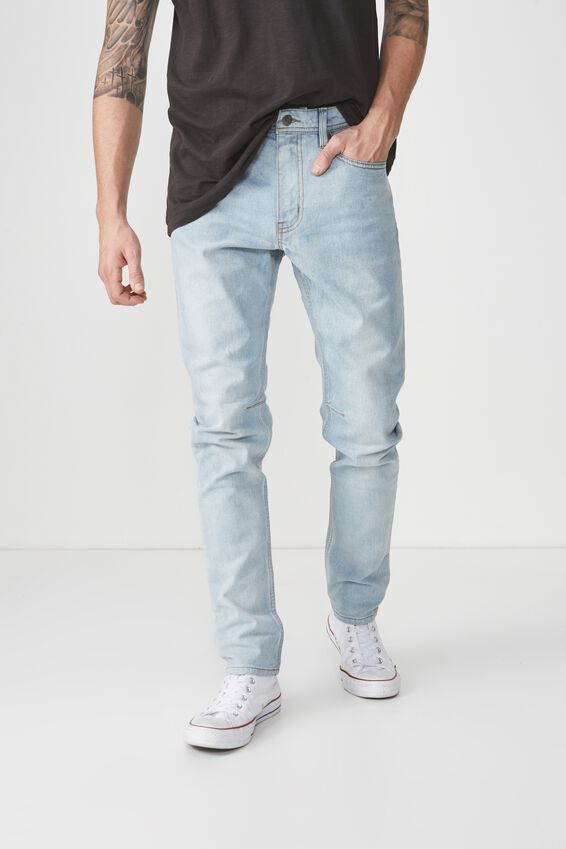 Tapered Leg Jean, PORTLAND BLUE