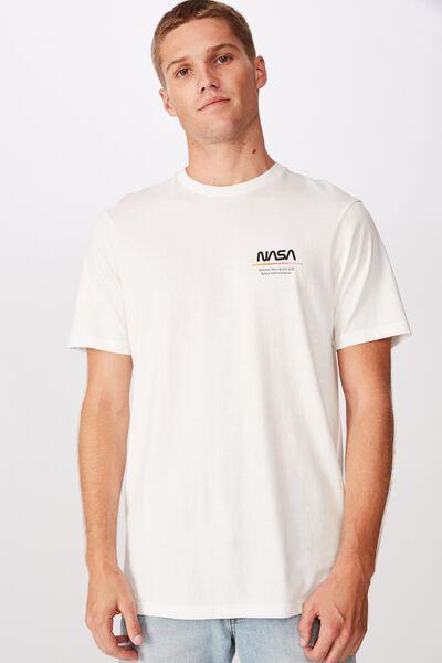 Tbar Collab Pop Culture T-Shirt, LCN NAS VINTAGE WHITE/NASA - MARS