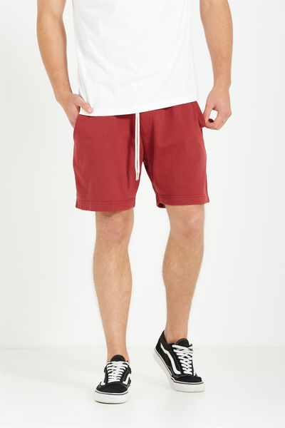 Volley Jogger Short, WASH RED
