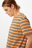 RAVE ORANGE PARTY STRIPE