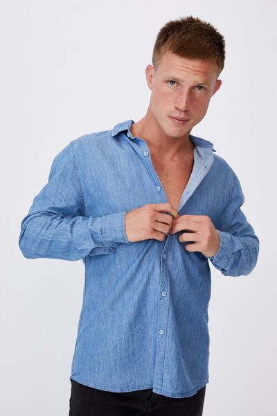 Fitzroy Denim Shirt, EVERYDAY BLUE