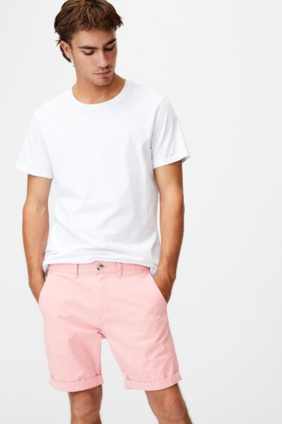 Washed Chino Short, PIGMENT DIRTY PINK