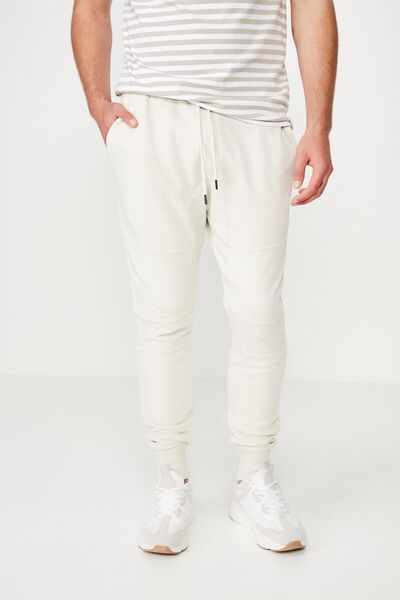 Super Skinny Trackpant, ECRU