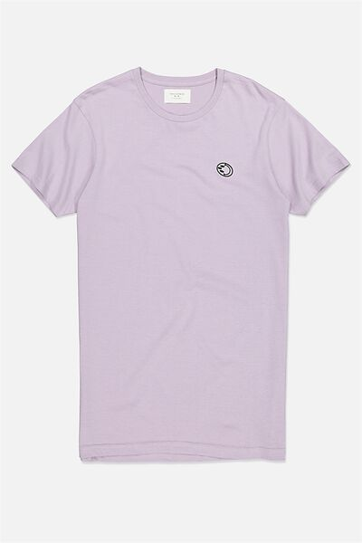 Icon Tee, HAPPY LAVENDER/OUTSIDERS